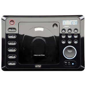 Linear Series RV4800 | AM/FM/CD/DVD/BT Bluetooth Wall Mount RV Radio - Front View