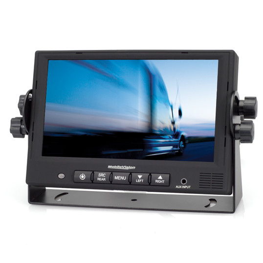 "MobileVision M130C | 7"" Color LCD Safety Camera Monitor - Front View"