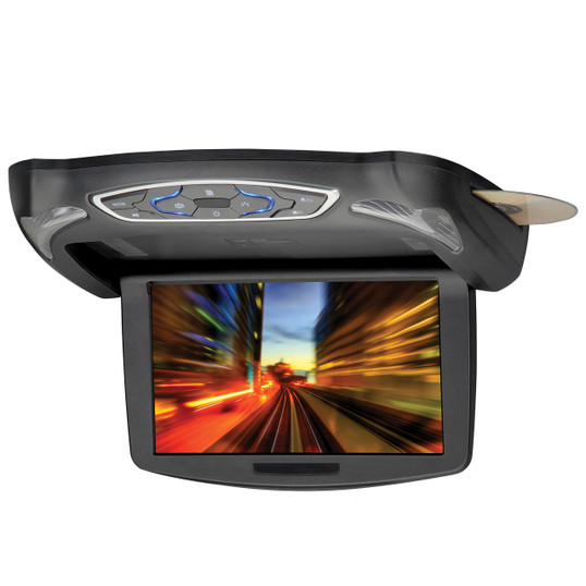 """MovieVision MV1055   10"""" Flip-Down Screen with DVD Player - Full View"""
