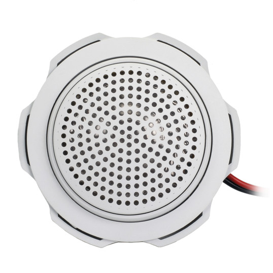 "AquaVibe LS1W | Marine Waterproof 1"" Tweeter (White) - Front View"