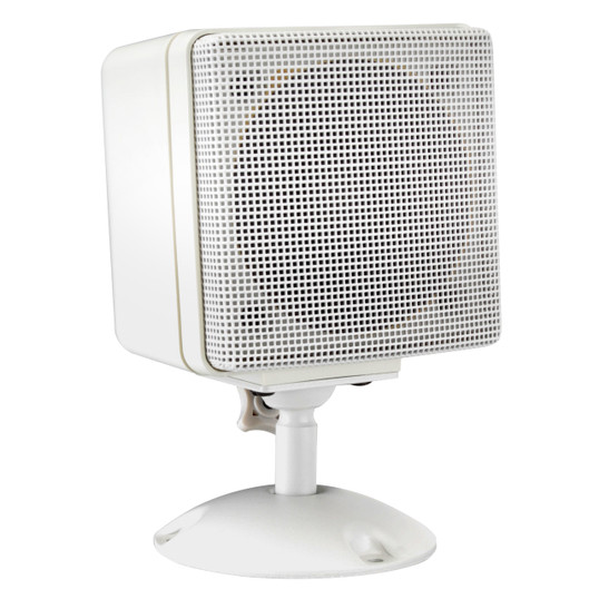 "Magnadyne LS4W | 3"" Satellite Speaker (White) - 3/4 View"