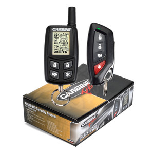 Carbine PLUS-5900 | 4-Channel Two-Way Remote Security System - Packaging & Remotes
