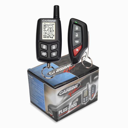Carbine PLUS-6900 | 4-Channel Two-Way Remote Start Security System - Full View