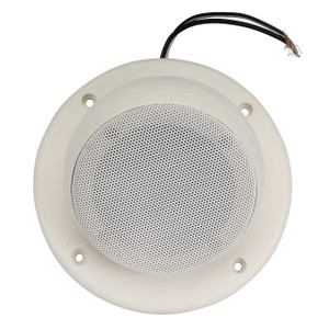"Magnadyne LS3EYC-WN | 3"" Ceiling Mount Satellite Speaker (White) - Bottom View"
