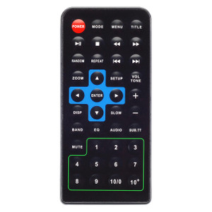Magnadyne RC3500 | Replacement Remote control for M3500DVD / M3800-BT Multimedia In-Dash Radios - Front View