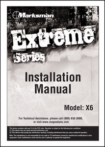 Marksman X6 | Installation Manual