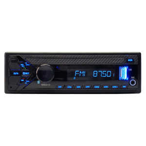 Magnadyne M9910 Replacement AM/FM/BT Receiver Single DIN - Front View