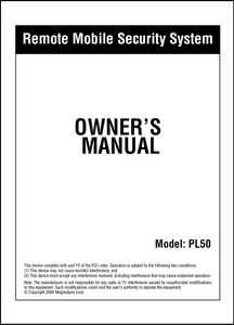 Carbine PL50 | Owner's Manual
