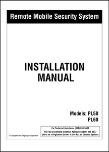 Carbine PL50/PL60 | Installation Manual