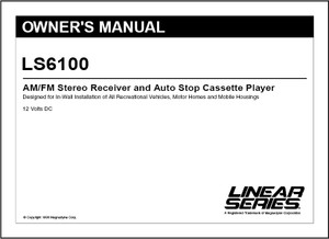 Linear Series LS6100 | Owner's Manual