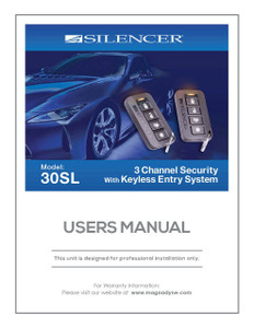 Silencer 30SL | User's Manual