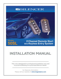 Silencer 50SL | Installation Manual