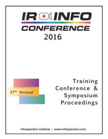 IR/INFO Conference Proceedings - 2016