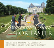 Gregorian Chant for Easter (CD): Easter With Solesmes!
