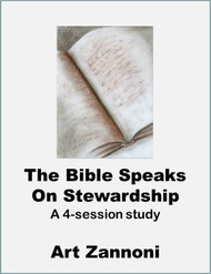 The Bible Speaks of Stewardship (eResource): a 4-session eResource study