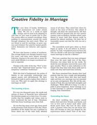 Creative Fidelity (Handout)
