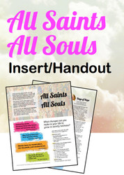 All Saints All Souls (eResource): Bulletin Inserts/Handouts
