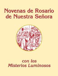 Novenas de Rosario de Nuestra Senora con los Misterios Luminosos (Large Print): Large Print