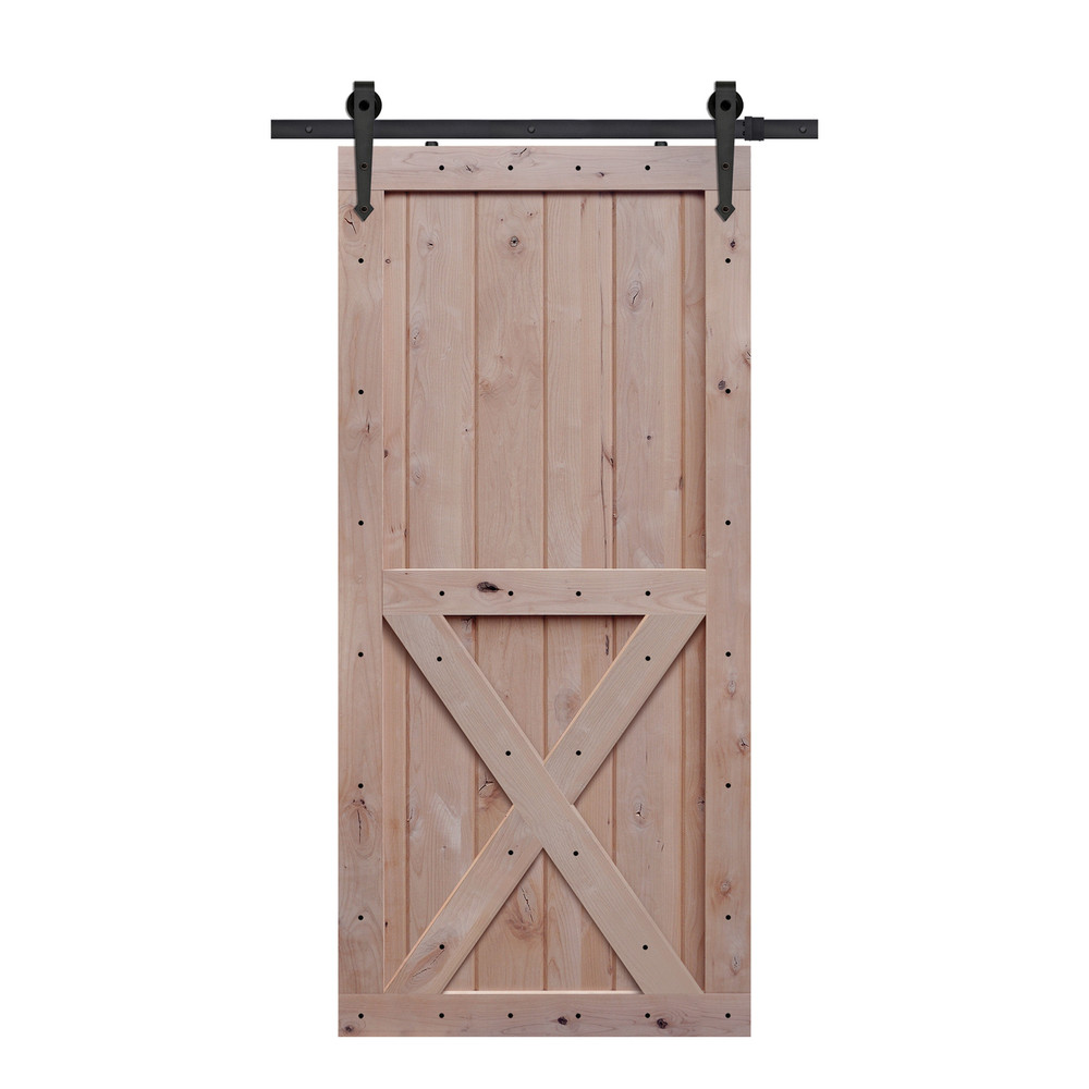 Two Panel X Barn Door