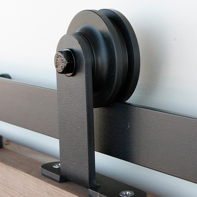 single gage barn door roller