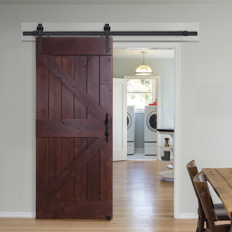 Double Z Two Panel Barn Door