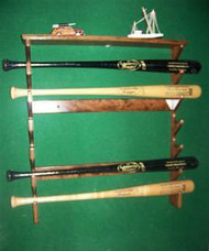Custom Designed Baseball Bat Racks And Ball Displays