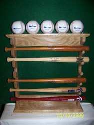 Gun Style for 6 Mini Bats and 5 Balls -for table top MBC 600 A-5