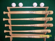 Gun style 6 bat and 4 Ball Rack  EE 206