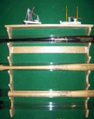 BASEBALL BAT RACKS, FOR BATS IN TUBES. TT 606   Tubes-A
