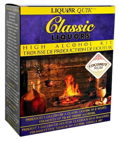 Classic Liquors 4L High Alcohol Kit - Coconut Rum