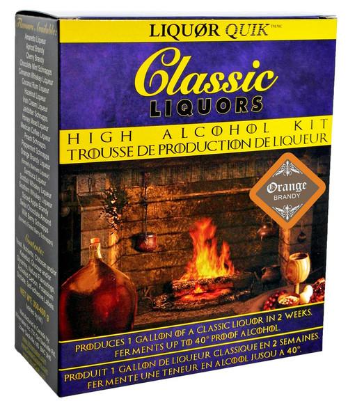 Classic Liquors 4L High Alcohol Kit - Orange Brandy Liqueur
