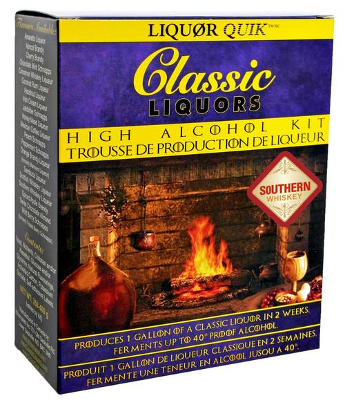 Classic Liquors 4L High Alcohol Kit - Southern Whiskey Liqueur