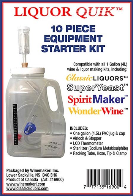 Liquor Quik - 10 Piece Equipment Starter Kit