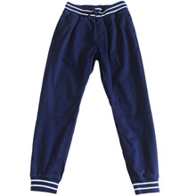 Men's  Jogger Pants with Stripe Detail Blue