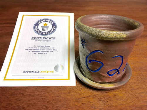 World Record Planter #62/159 and Certificate of Authenticity