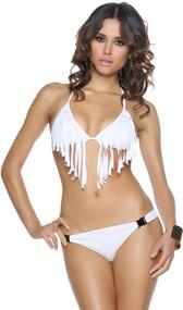 Fringe Bikini with Buckles