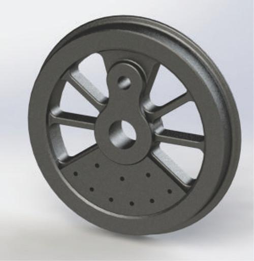 "Main Driver Wheel 4.5"" dia."