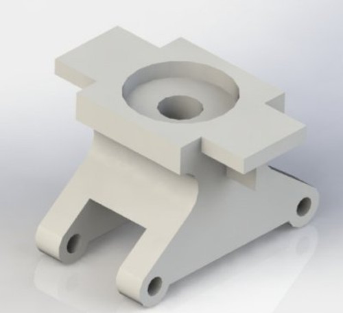 A12 Machined and finished Bogie Centre Casting