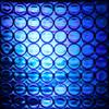 Reflexite 1 Inch Reflective Dots Sheet of 64 Blue