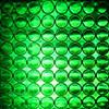 Reflexite 1 Inch Reflective Dots Sheet of 64 Green