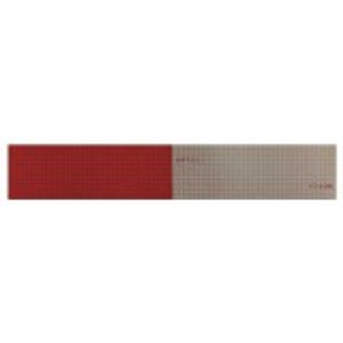 "Reflexite V82 DOT-C2 Conspicuity Tape 6""Red/6""White - 2""X12"" Strip"