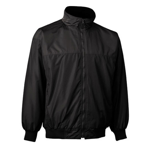 illumiNITE EMS Storm Jacket in Black Front View