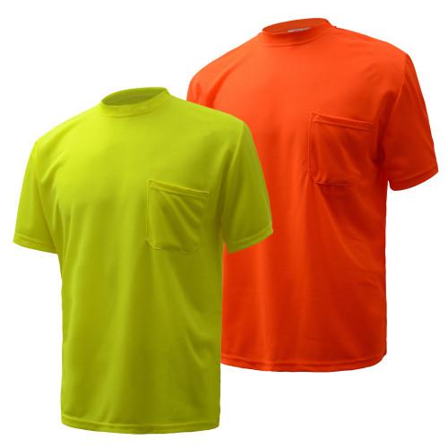 5501/5502 Non-ANSI Enhanced Short Sleeve T-Shirt