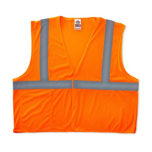 Hi-Vis Orange GloWear Class 2 Eco Vest