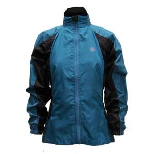 illumiNITE Olympia Jacket in Seaside Blue Front View
