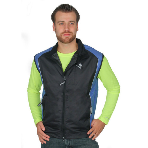 Triathlon Vest for Men in Slate Blue