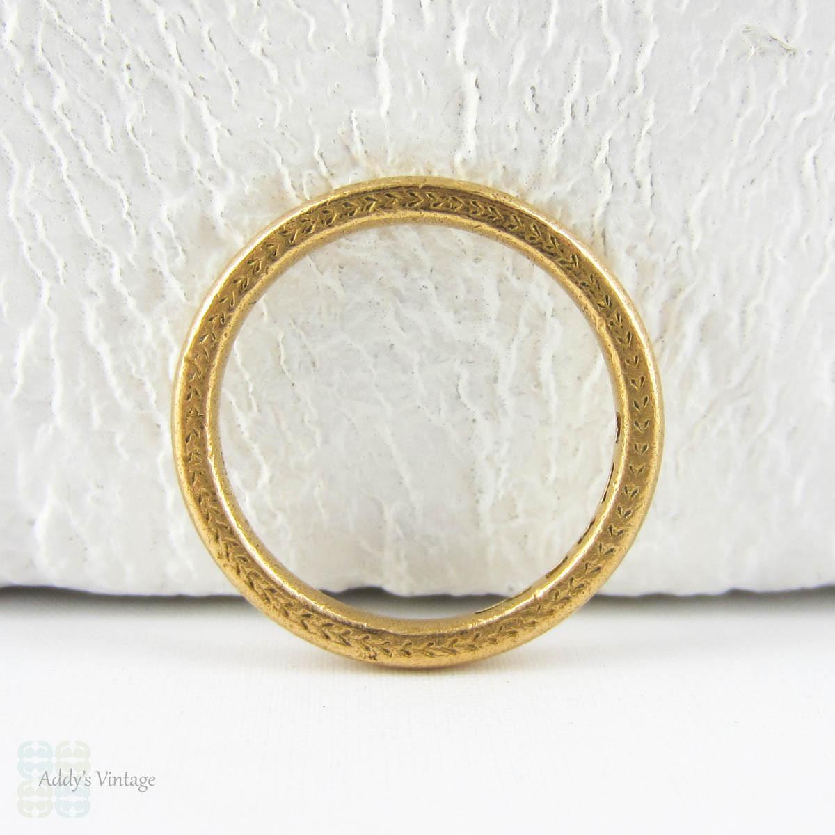 1930s Wedding Ring, 22 Carat Gold Wedding Band With. 1.0 Carat Wedding Rings. Relationship Engagement Rings. Weaved Engagement Rings. Wedding Dutch Engagement Rings. C Name Wedding Rings. Euro Coin Rings. Non Metal Wedding Rings. Busy Engagement Rings