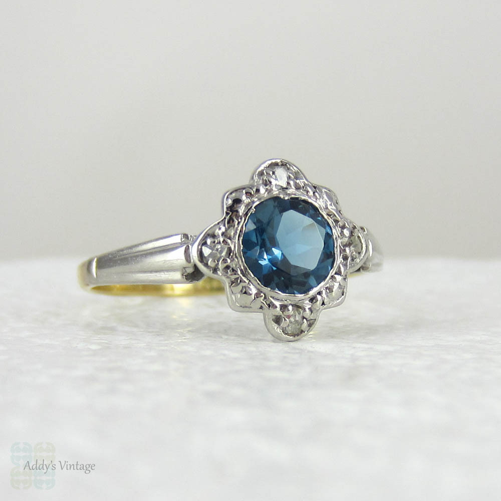 Hand Selected Antique Engagement Rings amp Vintage   Etsy