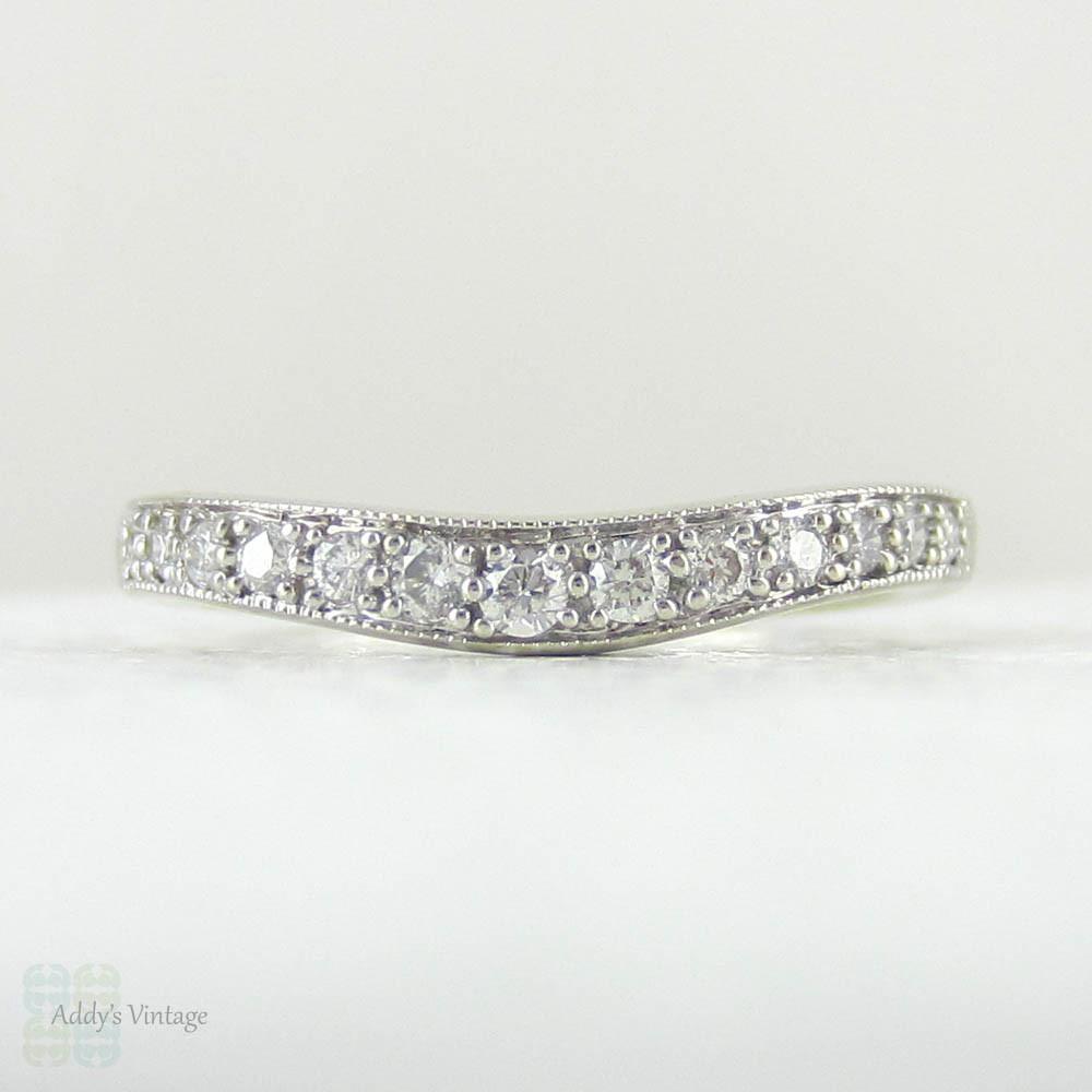 Wishbone Diamond Wedding Ring