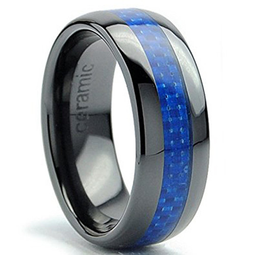 10995 - Ceramic Wedding Rings